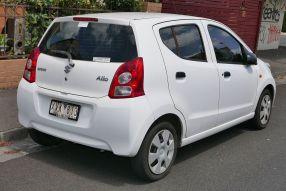 2010 Suzuki Alto (GF) GL hatchback rear