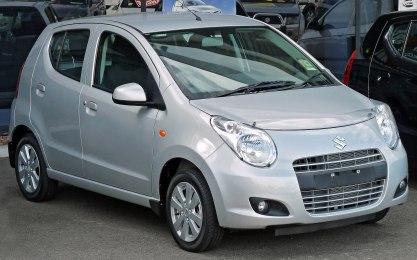 2010–2011 Suzuki Alto (GF) GLX hatchback