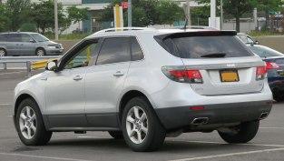 2011 Saab 9-4X 3.0L rear