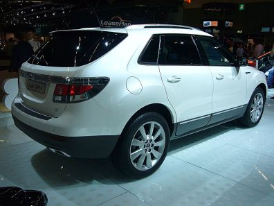 2011 Saab 9-4X (rear quarter)