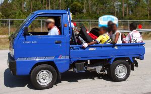 2012 Chevrolet CMP LS Bahamas relabeled Daewoo, relabelled Suzuki Carry
