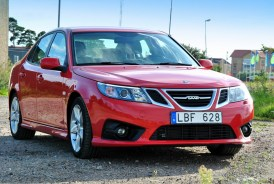 2012 Revised version and facelifted Saab 9-3 Griffin (Saloon)