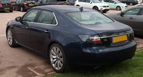 2012 Saab 9-5 Aero Turbo4 Automatic 2.0 Rear