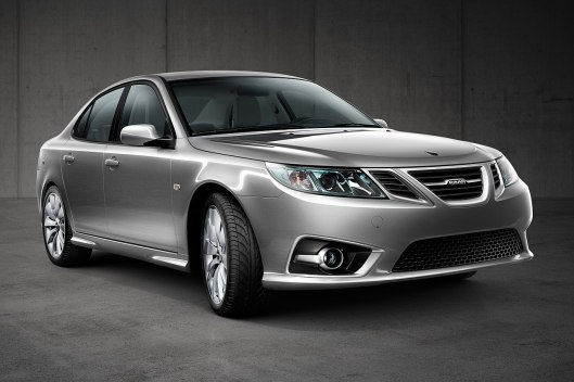 2013 Saab 9-3 Aero Sedan MY14 in silver colour - årsmodell