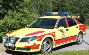 2013 SAAB 95 Ambulance