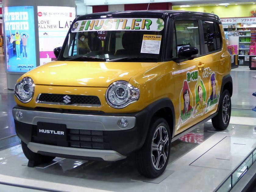 2014-present Suzuki HUSTLER X Turbo 4WD front