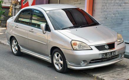 2014 Suzuki Baleno (Aerio) (front), Denpasar sec.gen