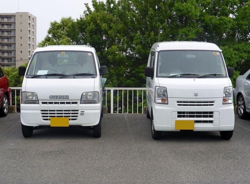 2014 Suzuki Carry (DA62T) & Every (DA64) vans