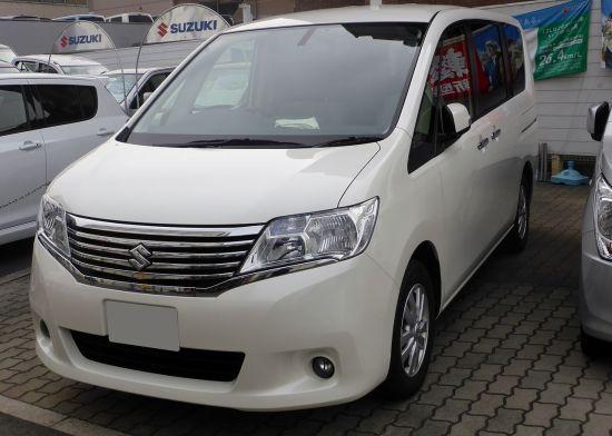 2014 Suzuki LANDY 2.0G (SC26) front