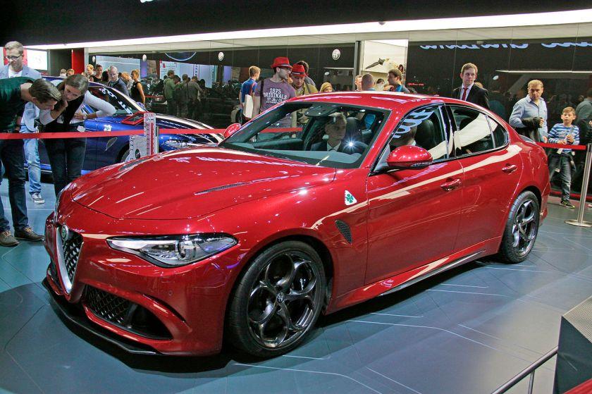 2015 Alfa Romeo Giulia
