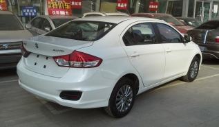 2015 Suzuki Alivio rear