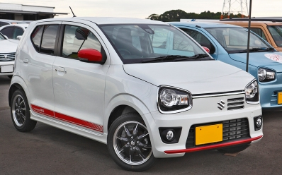 2015 Suzuki Alto Turbo RS 801