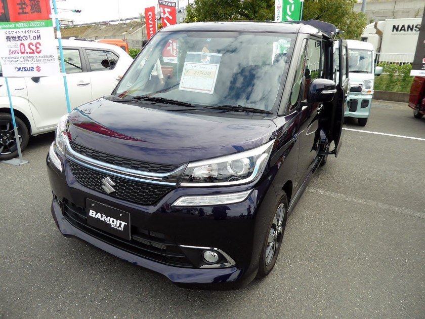 2015 Suzuki Solio Bandit (also sold as the Mitsubishi Delica D-2 Custom since 2015)