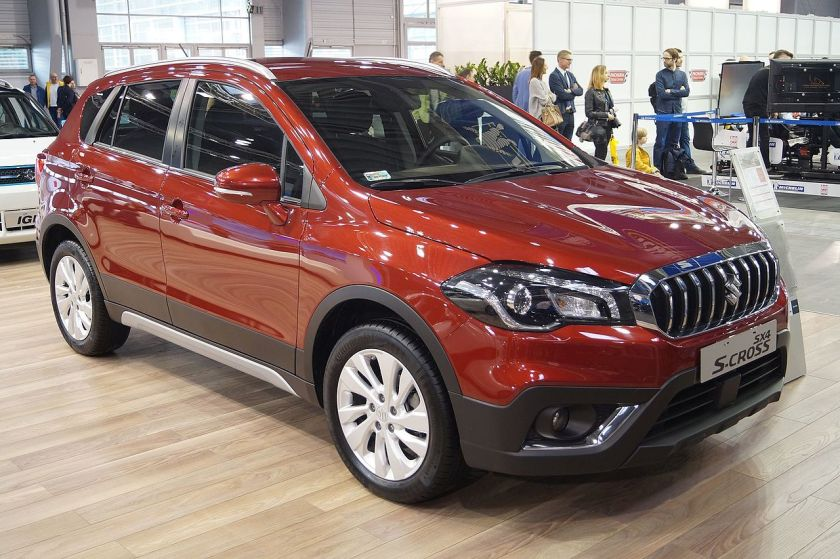 2017 Facelift Suzuki SX4 S-Cross (Europe)