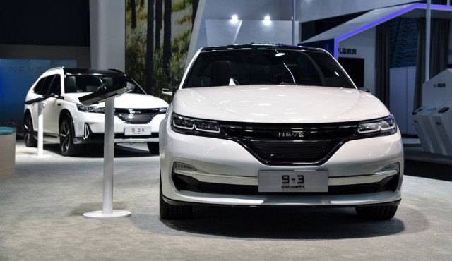 2017 Saab-9-3-concept Electric Vehicle