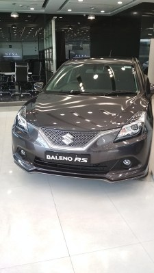 2018 Maruti Suzuki's Baleno RS top end & more powerful variant of Baleno, the Baleno RS