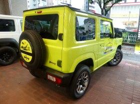 2018 Suzuki jimny XC (3BA-JB64W-JXCU-J) rear