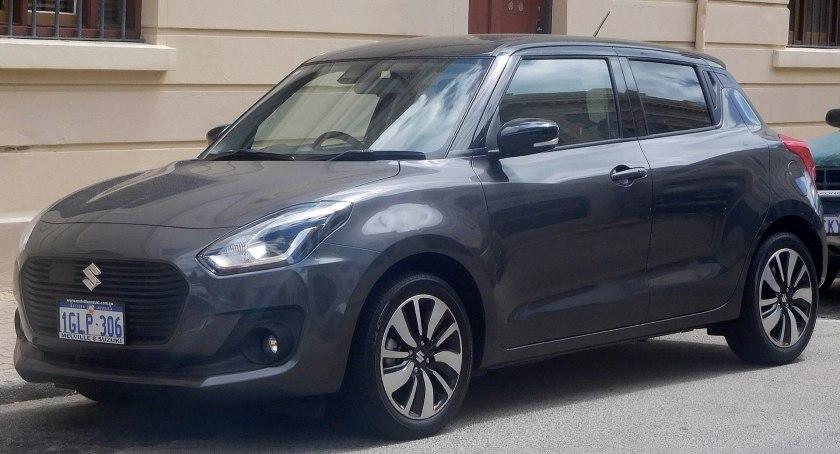 2018 Suzuki Swift (AZ) GLX Turbo 5-door hatchback