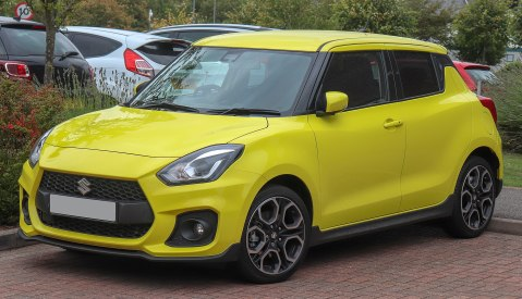 2018 Suzuki Swift Sport Boosterjet 1.4