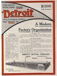 Abbott - Detroit Car Company Classic Ads f