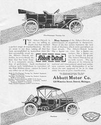 Abbott - Detroit Car Company Classic Ads g
