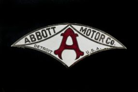 Abbott Motor Company Radiator Emblem