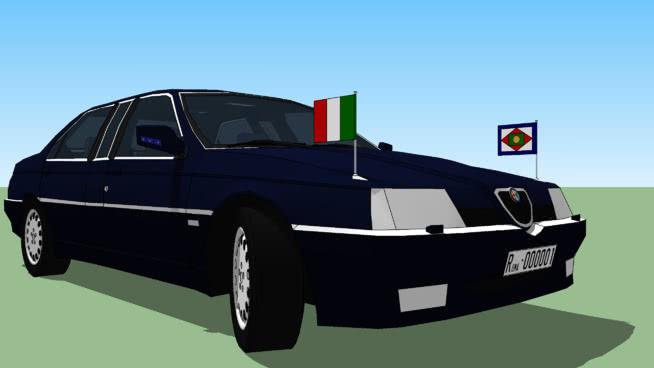 Alfa Romeo 164 presidential limousine (Italy)