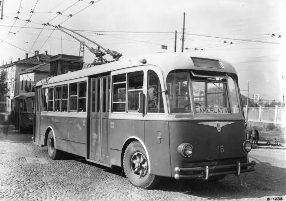Filobus Alfa Romeo 800 AF. Anno di costruzione 1947/50