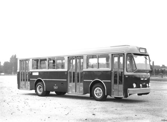 Autobus Alfa Romeo Mille, vettura ACEGAT Trieste 587, anno 1961