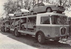 Alfa Romeo Mille Car Transporter