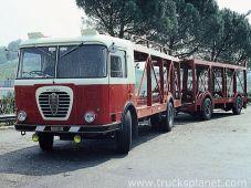 Alfa Romeo Mille - factory cartransporter