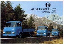 Alfa Romeo Saviem A15, A19, A38 - brochure