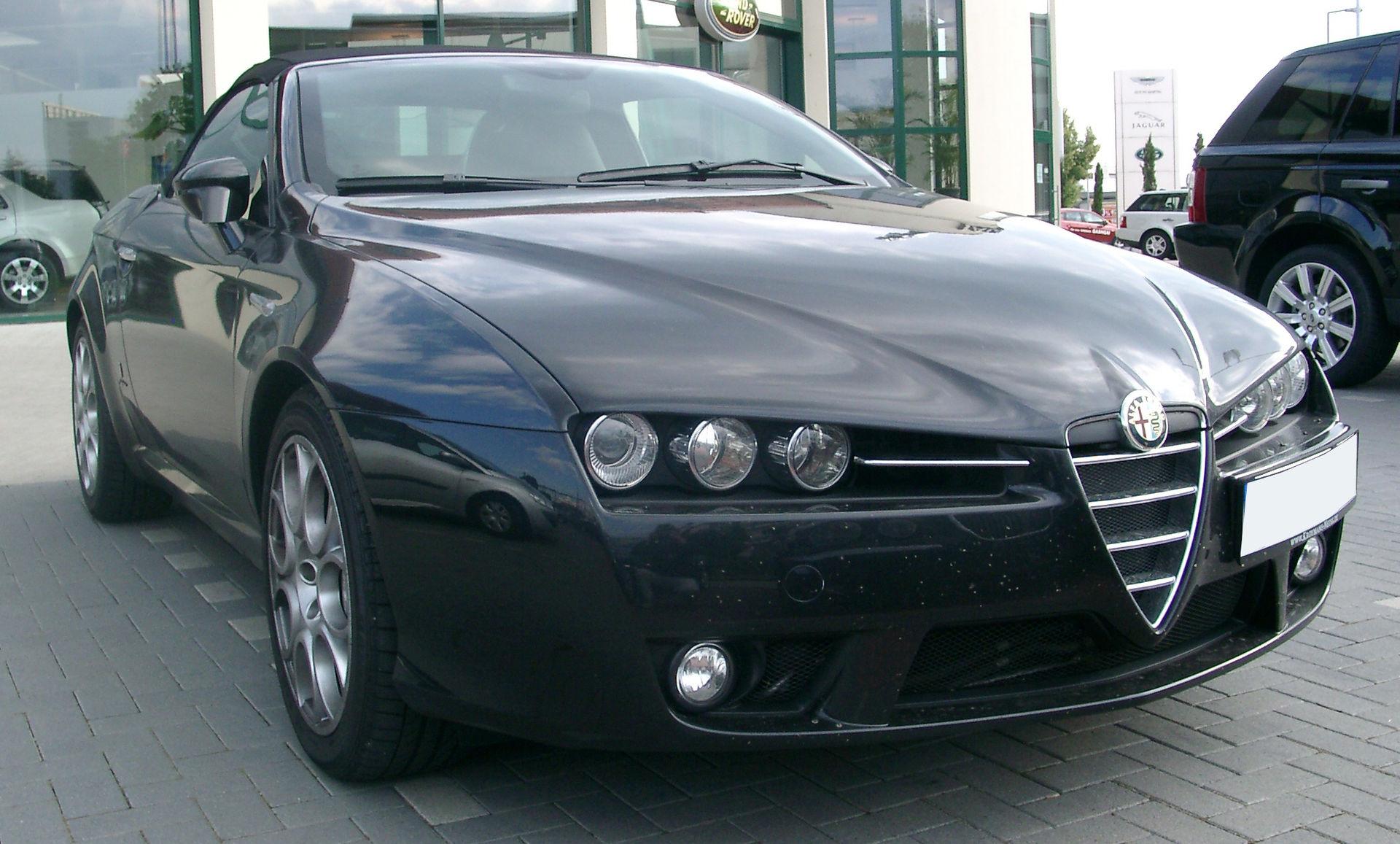 Alfa Romeo Spider 939 6 Generation Myn Transport Blog