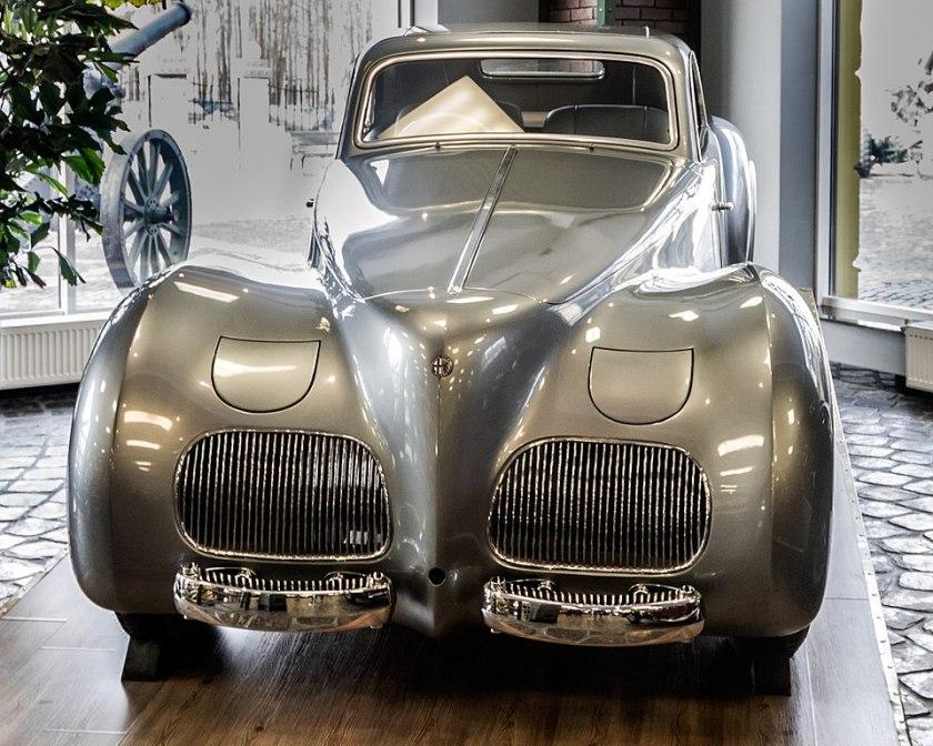 AlfaRomeo 6C 2500 SS. Designed by PininFarina for GiuseppeFarina