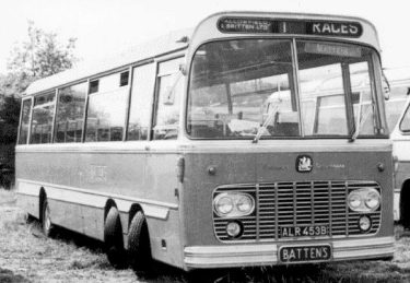 Battens Coaches Bedford Val legionnaire big