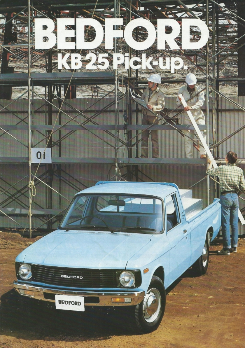 Bedford KB - 25 pick-up brochure
