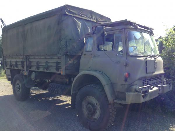 Bedford MJ 4x4 Drop Side Cargo