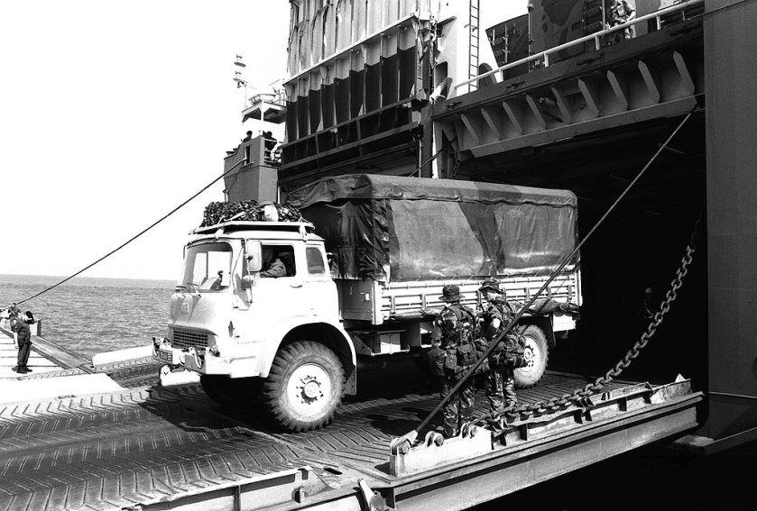 Bedford MK 4x4 truck