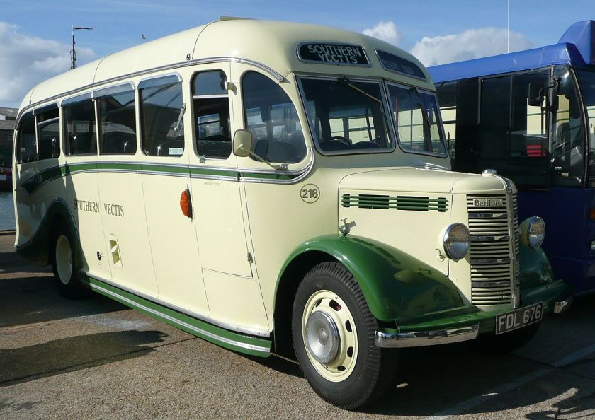 Bedford OB Southern Vectis 216