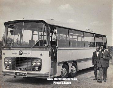 Bedford VAL Harrington Legionnaire twin-steer coach