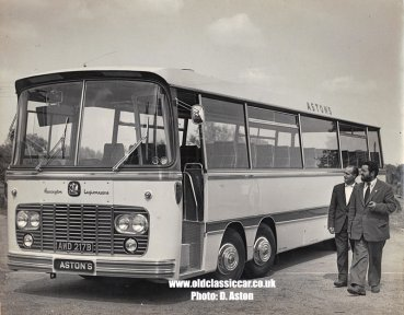 Bedford VAL Harrington Legionnaire twin-steer coach