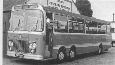 Bedford VAL14 - Harrington Legionnaire . C51F Battens Coaches ALR 453B