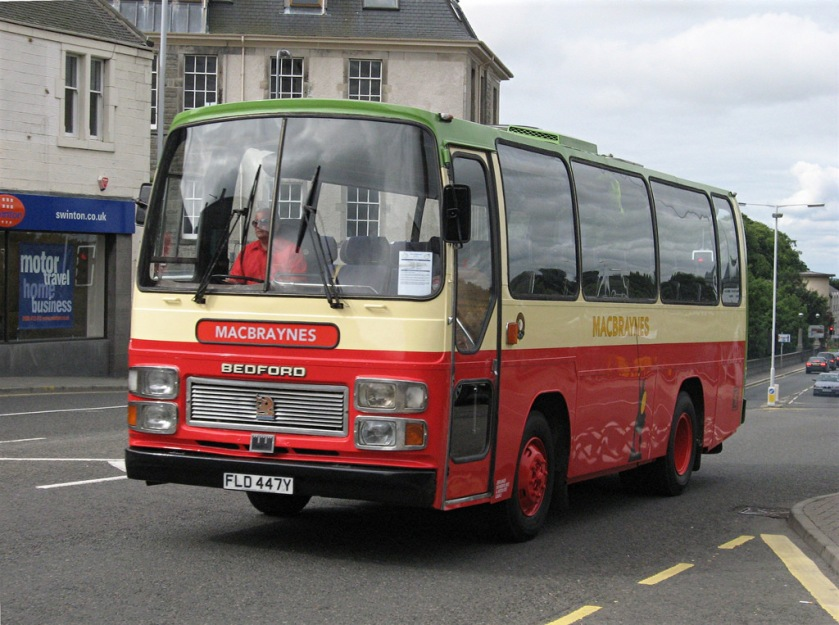Bedford YMP FLD447Y with Plaxton body