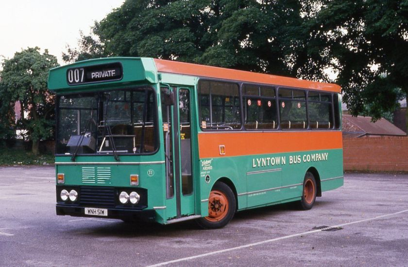 Bedford YMQ-S, WNH51W, Lyntown Bus Co