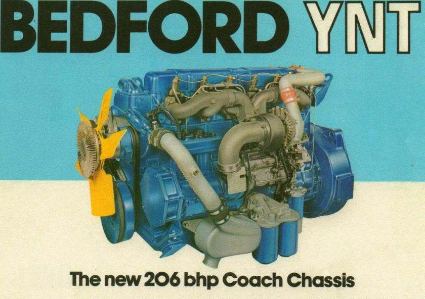 Bedford YNT Engine ad