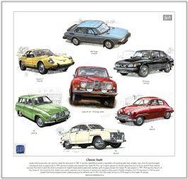 Classic Saab Cars