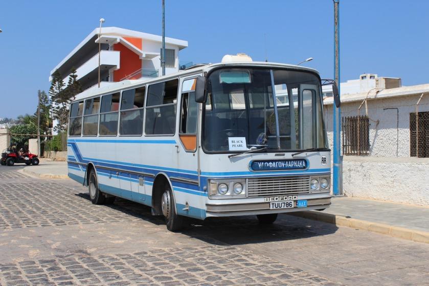 Cypriot Bedford YMP TUU 786