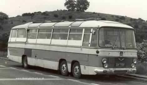 Duple Three-Axle Bedford VAL EMP-799B.Cafe
