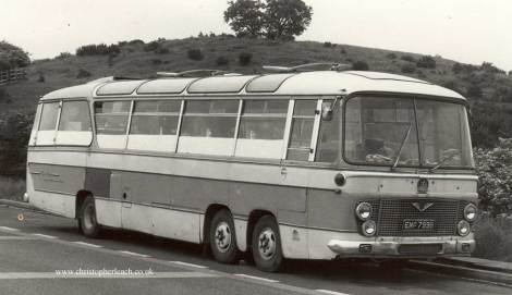 Duple Three-Axle Bedford VAL EMP-799B.Cafe