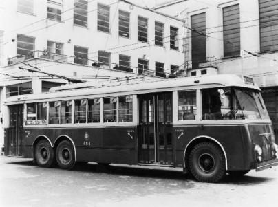 filobus Alfa Romeo 140AF 2 Breda